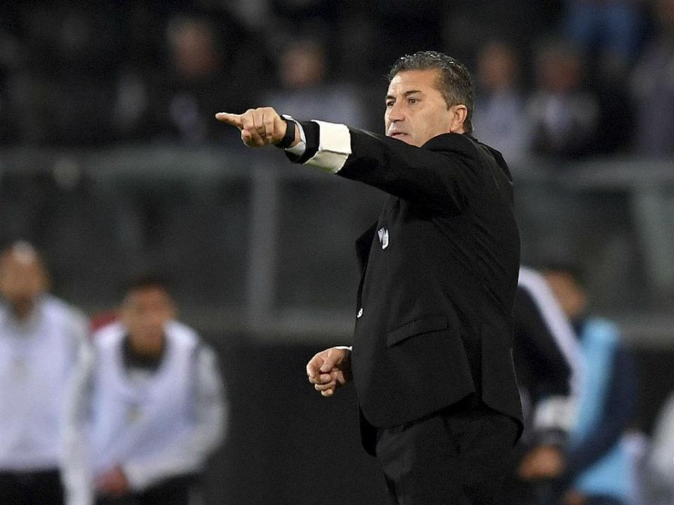 V. Guimarães: José Peseiro não continua no comando técnico