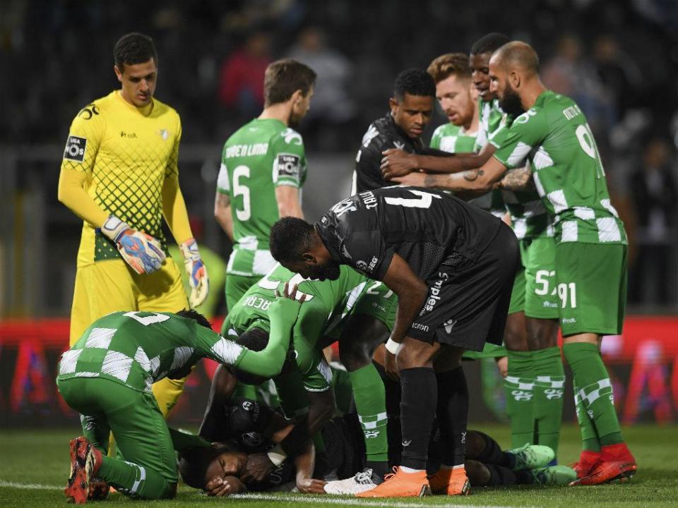 Sp. Braga empresta Loum ao Moreirense