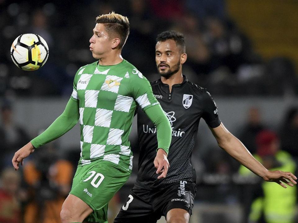 V. Guimarães-Moreirense, 1-0 (resultado final)