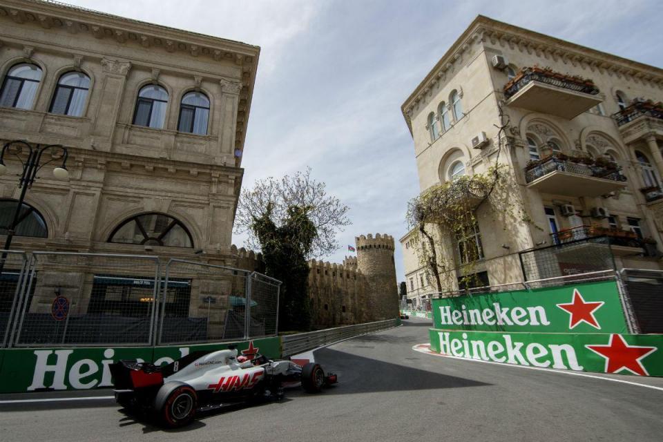 GP do Azerbaijão: Grosjean fica logo pela Q1