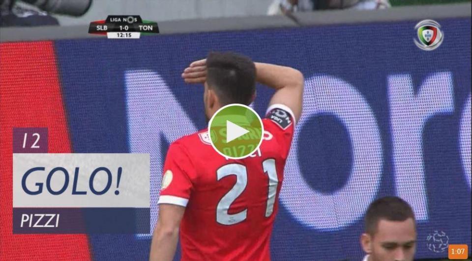 VÍDEO: foi desta forma que Pizzi inaugurou o marcador frente ao Tondela