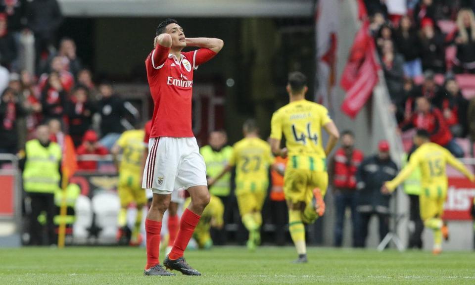 Benfica não perdia duas vezes seguidas na Luz para a Liga desde 2009