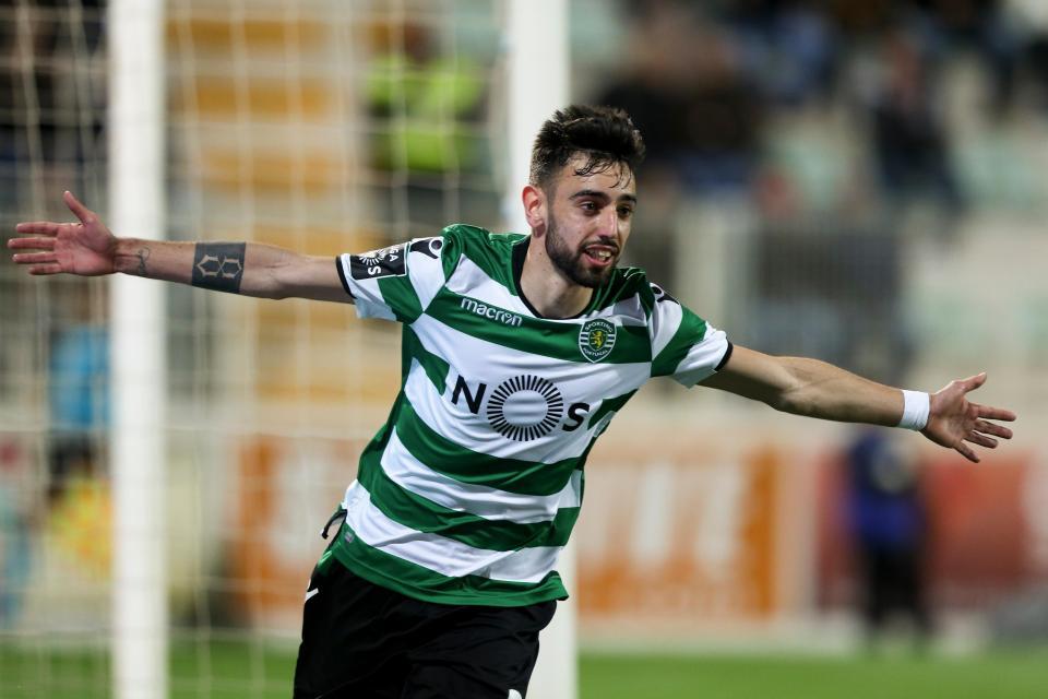 Sempre que Bruno Fernandes marca, o Sporting não perde
