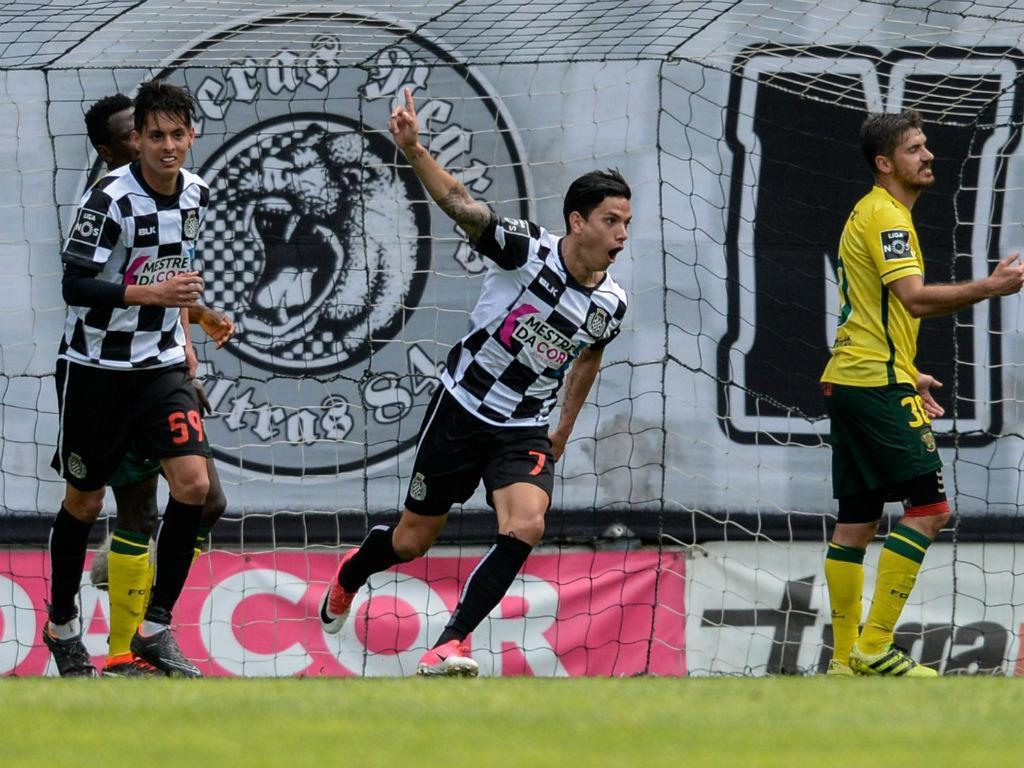 Boavista-Paços Ferreira, 1-0 (destaques)