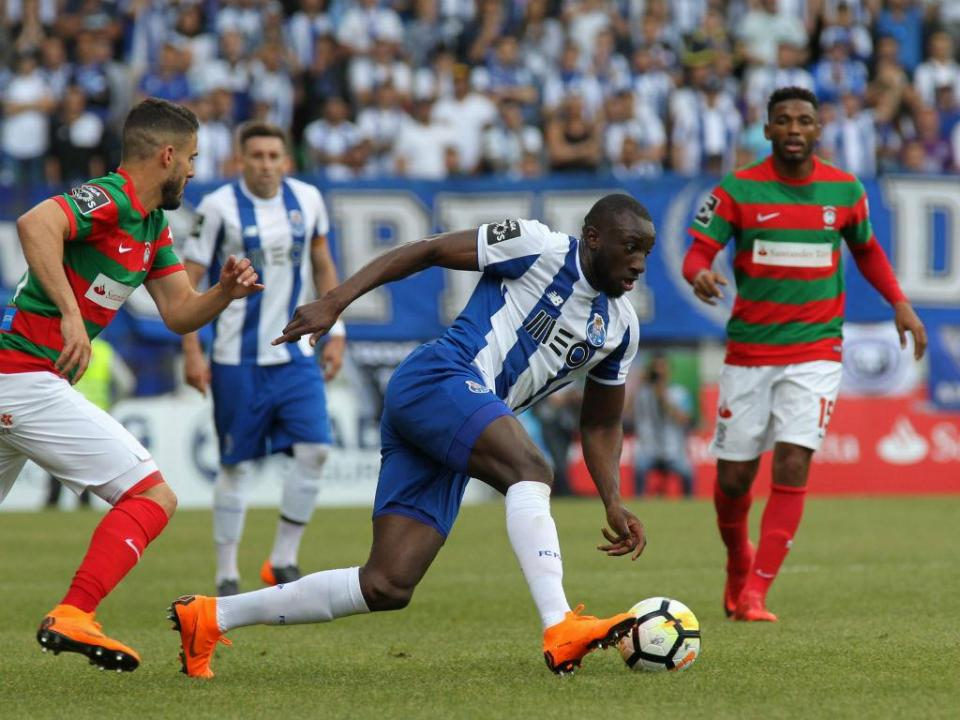FC Porto: Marega treinou à parte