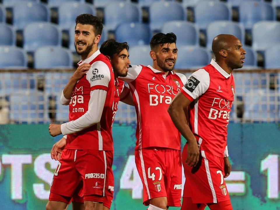 Belenenses-Sp. Braga, 0-1 (destaques)
