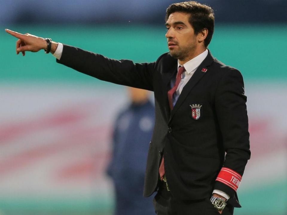 Abel: «O Sp.Braga assume-se desde o primeiro dia»