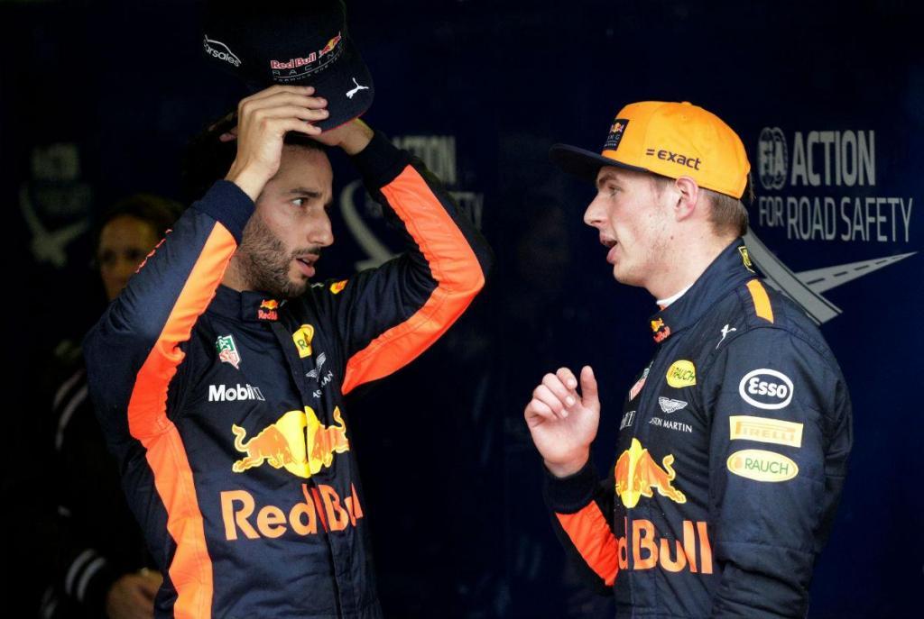"""Verstappen e Ricciardo passam a mesma mensagem: """"Não é bom para a equipa"""""""