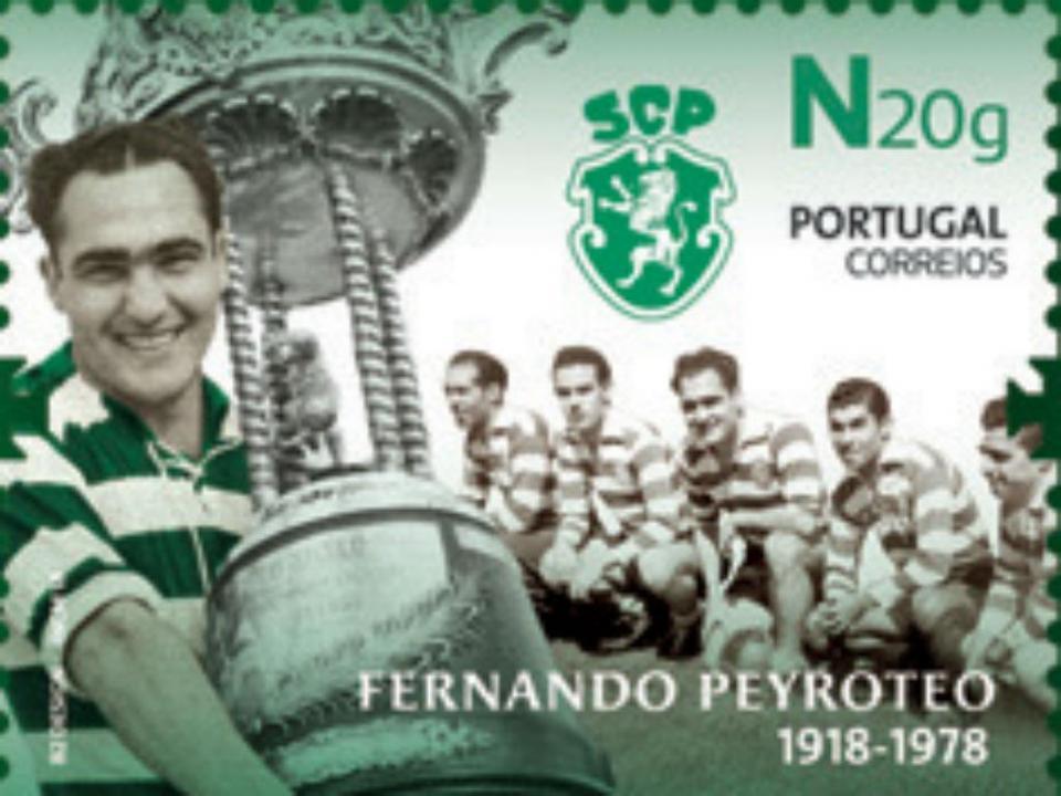 Sporting: CTT assinalam os cem anos do nascimento de Peyroteo