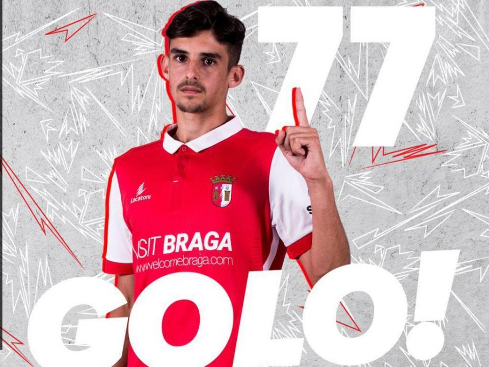 Sp. Braga: Trincão convocado para o arranque da Liga