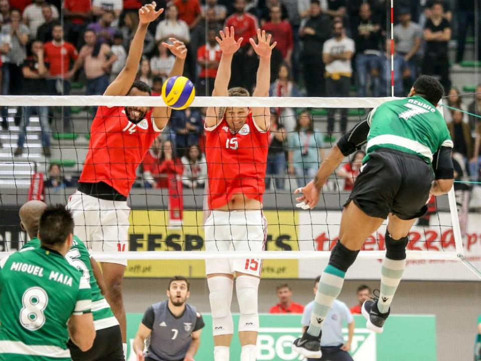 Voleibol: Hélio Sanches reforça Sporting