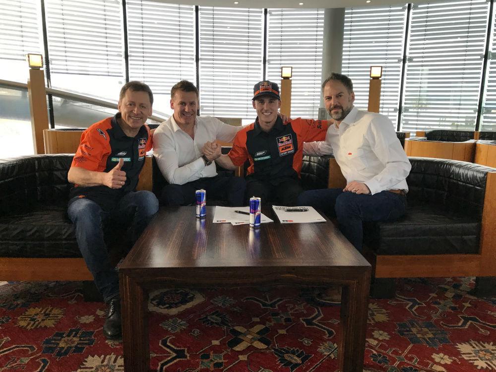 MotoGP: Pol Espargaró assina por mais dois anos com a KTM
