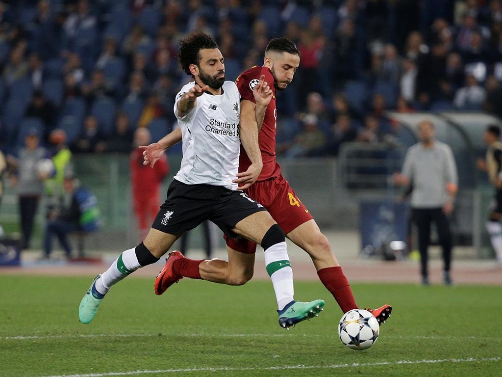 Roma deseja «boa sorte» a Salah na final da Liga dos Campeões