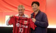 Shanghai SIPG visitou Benfica