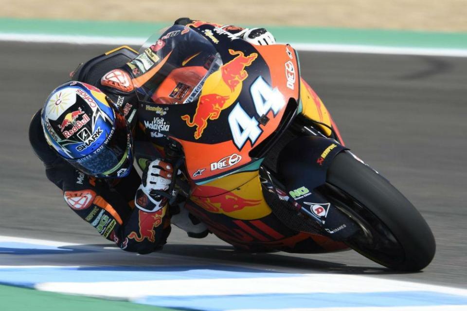 Miguel Oliveira sai de 14.º para obter o 2.º lugar em Jerez