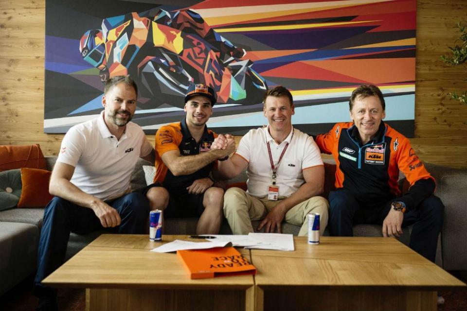 Miguel Oliveira já está confirmado no MotoGP até 2020