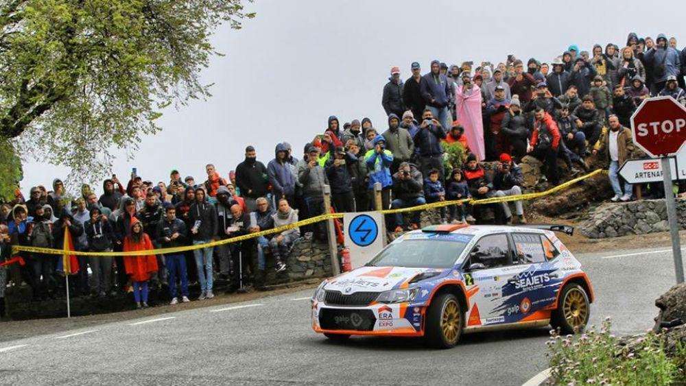 Bruno Magalhães fechouprimeira etapa do Rally das Canárias em sexto
