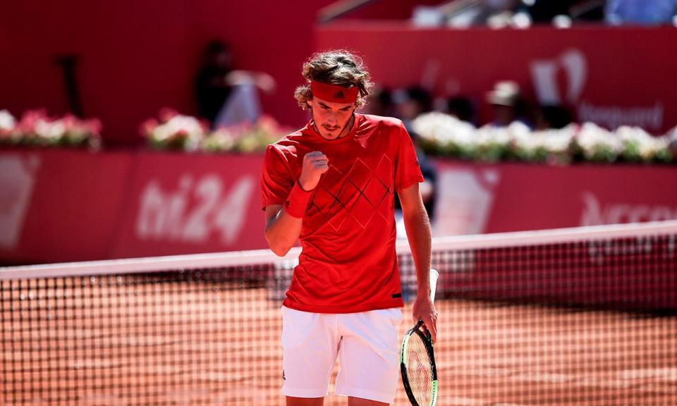 Stefanos Tsitsipas regressa ao Estoril Open
