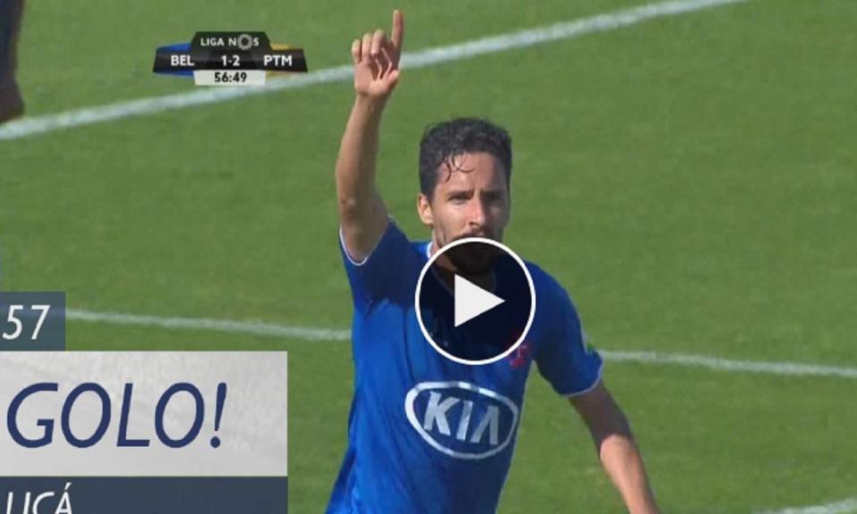 VÍDEO: Licá volta a empatar para o Belenenses antes da hora de jogo