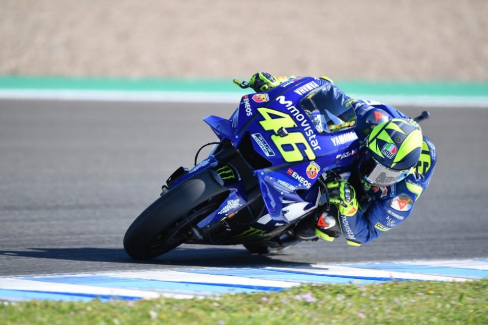 MotoGP: Valentino Rossi desiludido com a qualificação em Jerez