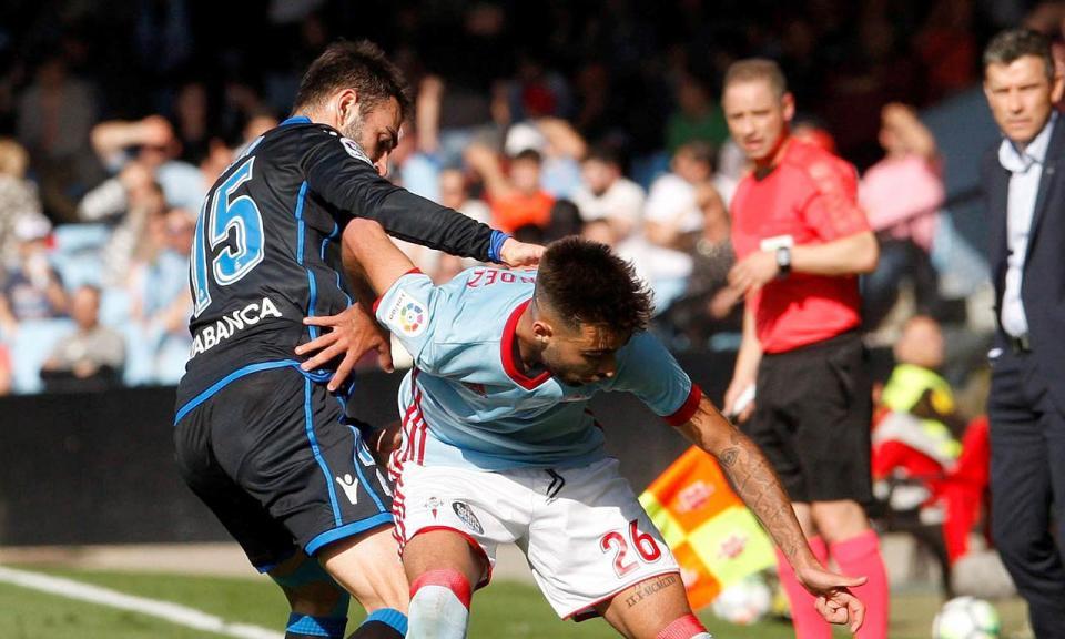 Deportivo evita derrota no dérbi da Galiza nos descontos