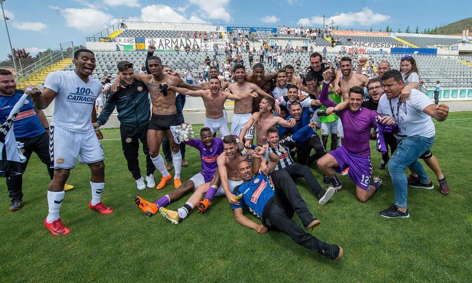 II Liga: Nacional celebra o título com empate