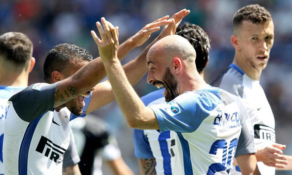 Cancelo titular na goleada do Inter, que ainda sonha com a Champions