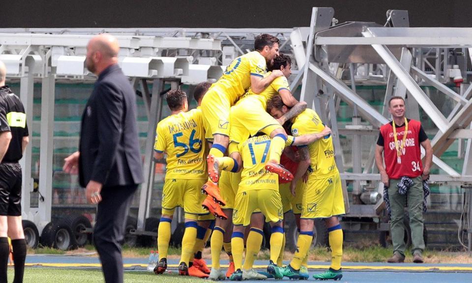 Itália: Chievo penalizado com três pontos