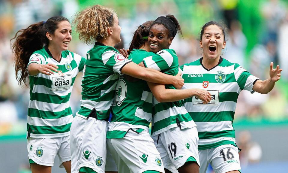 Champions feminina: Sporting venceu Osijek por 3-0