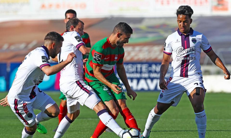 Desp. Chaves-Marítimo, 4-1 (resultado final)
