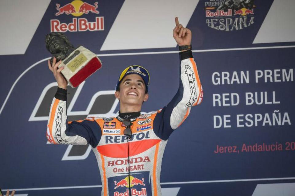 """Marc Márquez: """"Estou feliz por ter sido o primeiro a vencer no circuito Ángel Nieto"""""""