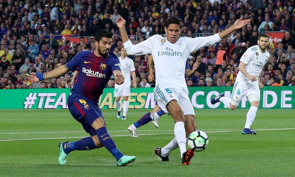 Presidente da Liga anuncia horário do Barcelona-Real Madrid