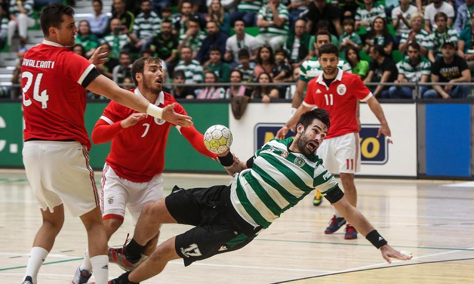 Andebol: Sporting sofre derrota surpreendente com o ISMAI