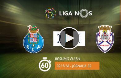 VÍDEO: o resumo do FC Porto-Feirense