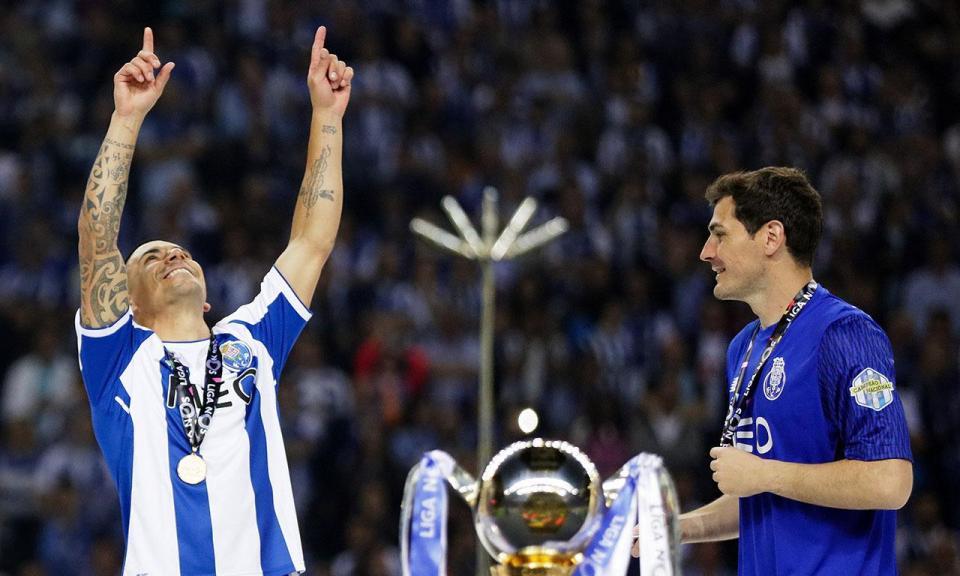 Casillas e o FC Porto: «Gostava de ficar mais um ano»