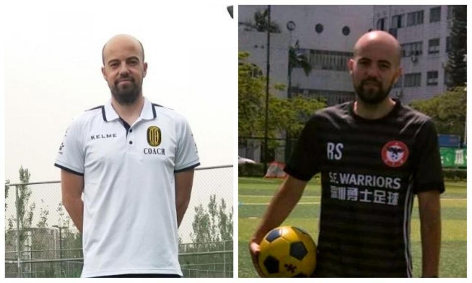 Os gémeos portugueses que formam a próxima geração do futebol chinês