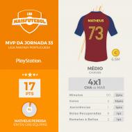 MVP j33 Matheus