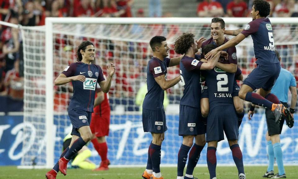 França: seis do Paris Saint-Germain no melhor 11 do campeonato