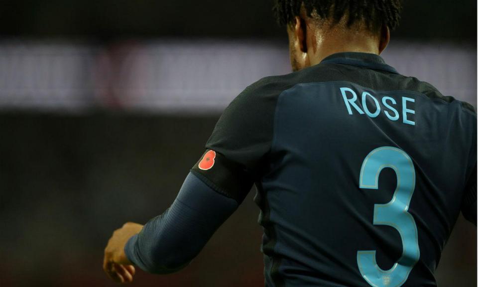 Inglaterra: Danny Rose dispensado da seleção por lesão