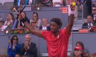 ATP Masters 1000 Madrid - Vénia de Monfils a Nadal