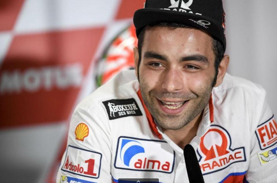"""Danilo Petrucci: """"Sonho com a Ducati oficial"""""""