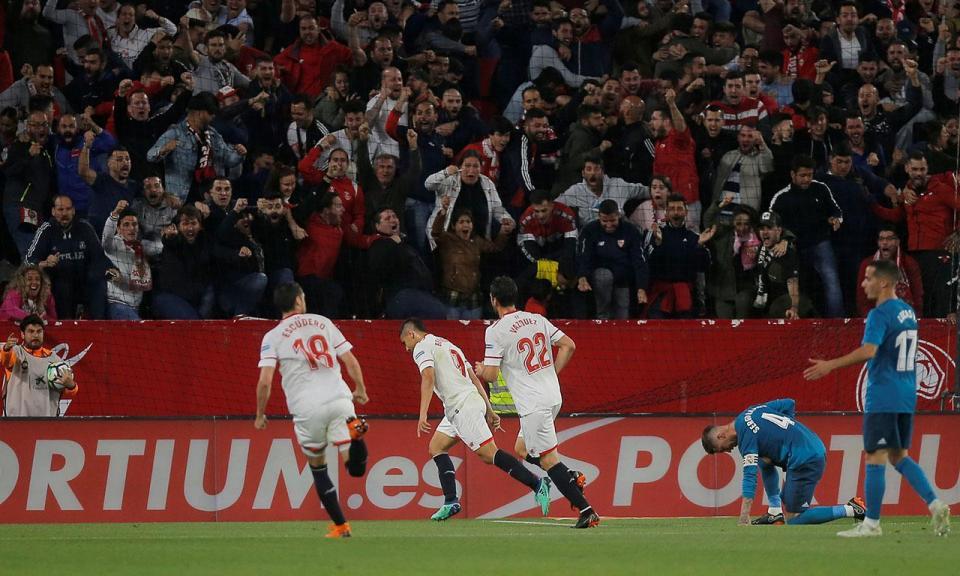 VÍDEO: Real Madrid perde em Sevilha com golo de Layún