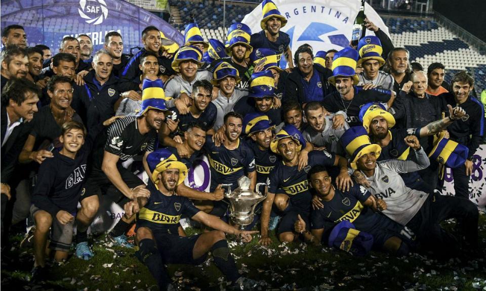 Argentina: Boca Juniors empata em La Plata e é bicampeão