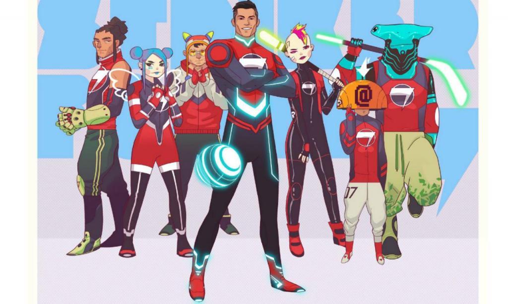 Cristiano Ronaldo vai ser super-herói de desenhos animados