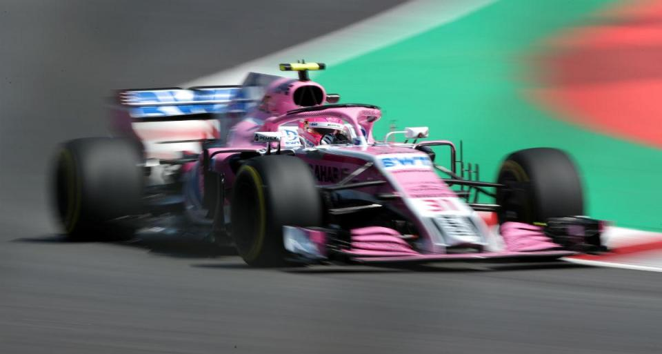 GP de Espanha: Force India eliminados na Q2