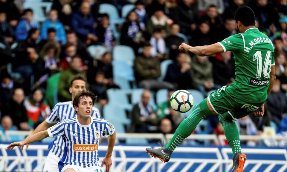 Willian José dá vitória à Real Sociedad frente ao Leganés