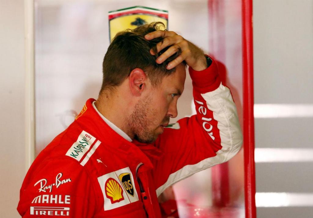 """Sebastian Vettel: """"A Ferrari tem três problemas para resolver"""""""
