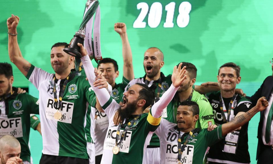 Futsal  Sporting inicia defesa da Taça com o Eléctrico  c4ab2331e5f48