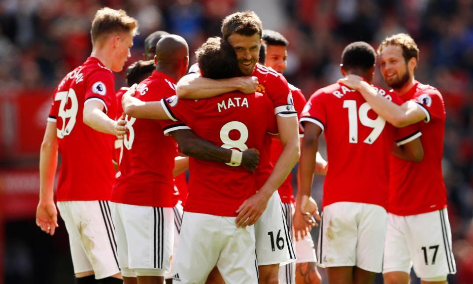 Direitos: Manchester United à frente do Man. City em 2017/18