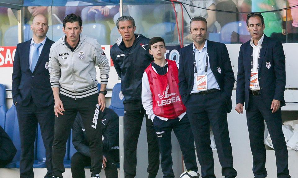 Nuno Manta: «Não ganhámos, mas foi uma grande vitória do Feirense»